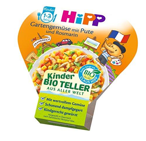 HiPP Gartengemüse mit Pute und Rosmarin, 6er Pack (6 x 250 g) 7820 Babynahrung