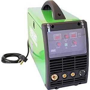 2017 Everlast PowerMIG 200 200amp MIG stick welder dual voltage 110v/220v spool gun ready