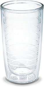 Tervis, Clear 1001837 Clear & Colorful Insulated Tumbler 16oz, 16 oz Tritan