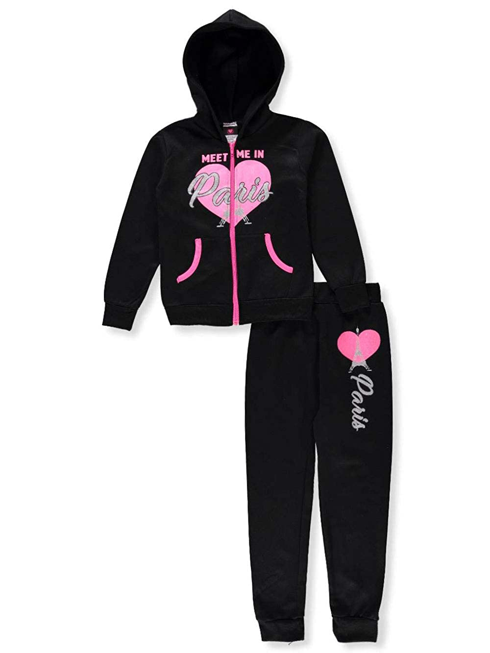 The DivaCup Diva Girls' 2-Piece Sweatsuit Pants Set