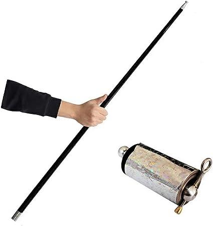 Portable Martial Arts Metal Magic Pocket Bo Staff 150cm New Pocket Magic Tricks