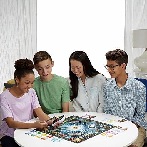 Hasbro Monopoly Banking Ultra - Klassiker der Brettspiele mit elektronischem Kartenleser, Familienspiel ab 8 Jahren