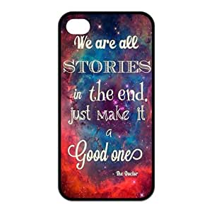 iPhone 6 plus 5.5 Case, Dr.Who Quotes Hard TPU Rubber Snap-on Case for iPhone 6 plus 5.5 / 6 plus 5.5S