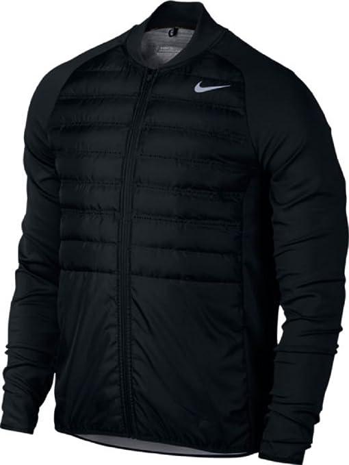 Nike Aeroloft Hyperadapt Jkt Chaqueta, Hombre, Negro, S