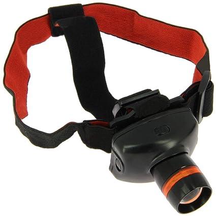 g8ds/® Stirnlampe 300 Lumen One-Touch-Geschwindigkeitsfokus Bis zu 170m Reichweite Camping Outdoor