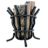 Titan Self-Feeding 1″ Solid Steel Fire Pit Basket