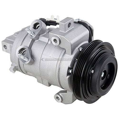 Compressor Ford A/c Mustang - New AC Compressor & A/C Clutch For Ford Mustang V6 2011 2012 2013 2014 - BuyAutoParts 60-03206NA New