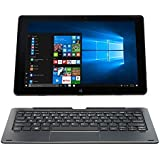 NUVISION TM101W638L Duo 10 Draw 2-in-1 Hybrid PC with 10.1 HD Touchscreen, Intel Atom X5-Z8300 Processor and 64GB SSD Memory, Digital Pen Included, Blue