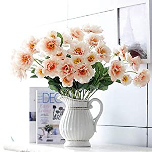 zhENfu Artificial Flowers 2 Heads rosemary of Passion Bouquet Artificial Flowers Silk Flower 4