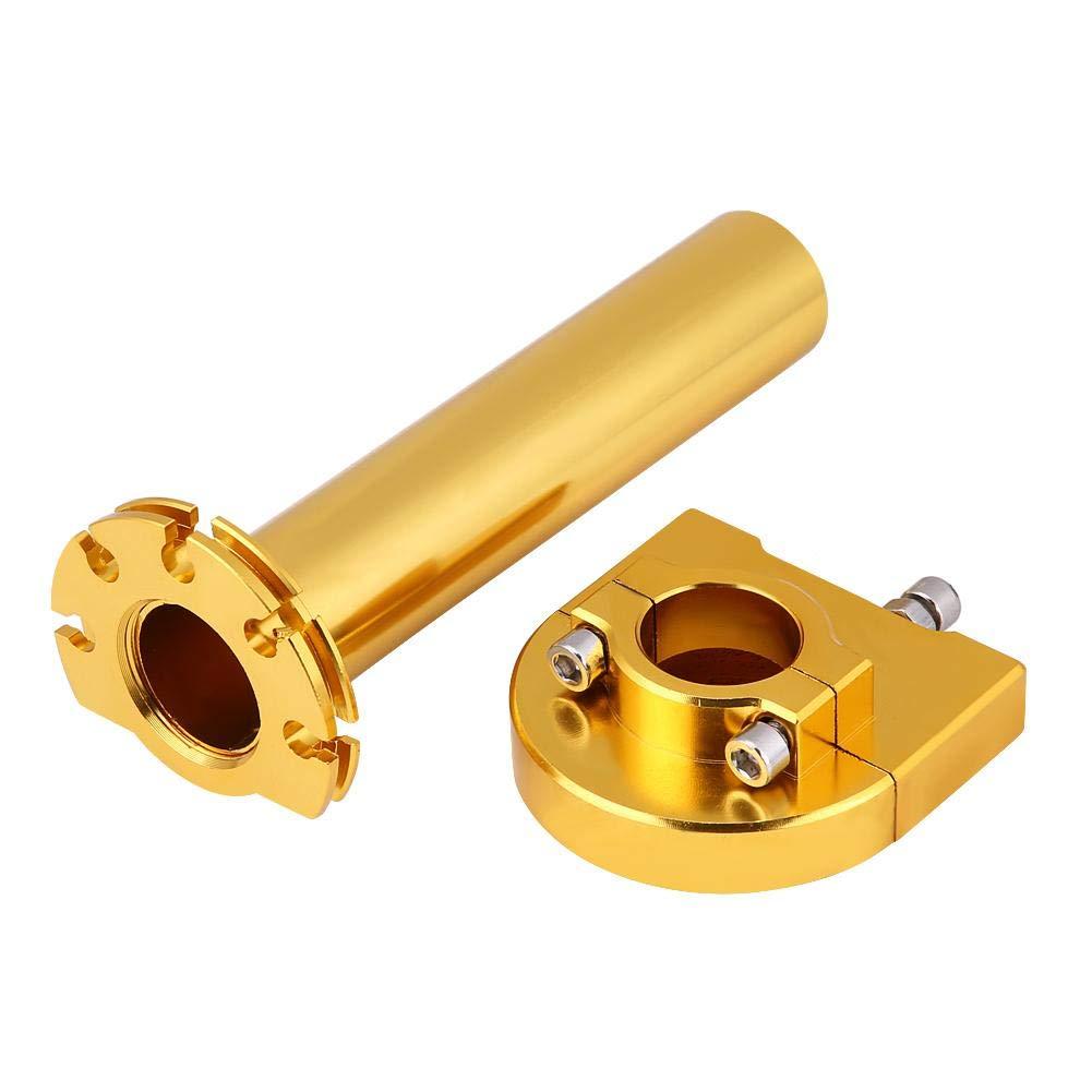 Color : Gold Jinxuny Poign/ées de Torsion des gaz 7//822mm Guidon Poign/ées de Torsion des acc/él/érateurs pour Scooter