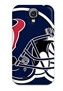 Tpu Case Cover For Galaxy S4 Strong Protect Case - Houston Texans Design
