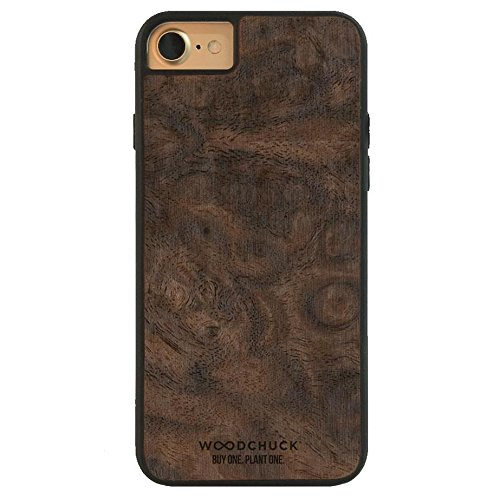 WOODCHUCK Walnut Burl Wood iPhone Case (8/7) - Premium Handmade Cover