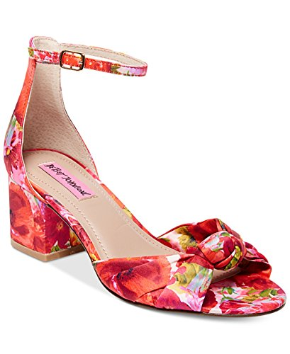 Betsey Johnson Kvinna Ivee Block Klack Sandaler Blom 5m