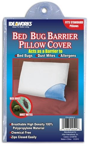 Amazon Ideaworks Bed Bug Barrier Pillow Covers 40Pack Of 40 Beauteous Bed Bug Pillow Cover
