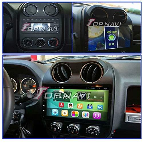 Amazon com: TOPNAVI 32GB Android 8 1 Auto Stereo for Jeep Compass