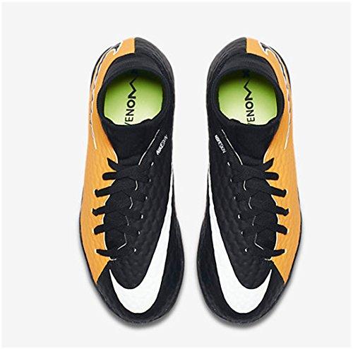 Nike Unisex-Kinder Jr. Hypervenom X Phelon 3 Dynamic Fit Ic Fußballschuhe Orange (Laser Orange/Black-White-Volt)