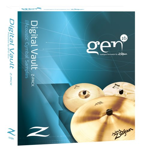 Gen16 Digital Vault Z-Pack: A Series Cymbals with BFD Eco. ()