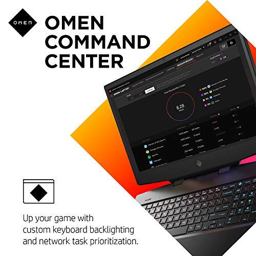 "OMEN 17 Gaming Laptop, NVIDIA GeForce GTX 1660 Ti, Intel Core i7-10750H, 8 GB DDR4 RAM, 512 GB PCIe NVMe SSD, 17.3"" Full HD, Windows 10 Home, RGB Keyboard (17-cb1060nr, 2020 Model)"