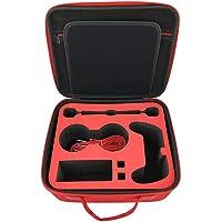 Foonee Étui de Transport Compatible avec Nintendo Switch Portable EVA Protection Rigide avec 21 Emplacements pour Cartes de Jeu pour Console Nintendo Switch et Accessoires