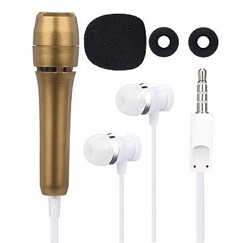 Amazon com: Mini Karaoke Condenser Microphone