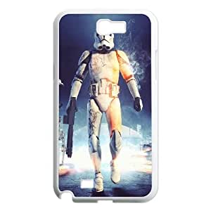 Stormtrooper Series, Samsung Galaxy Note 2 Case, Star Wars Case for Samsung Galaxy Note 2 [White]
