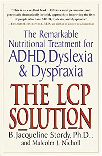 the lcp solution the remarkable nutritional treatment for adhd