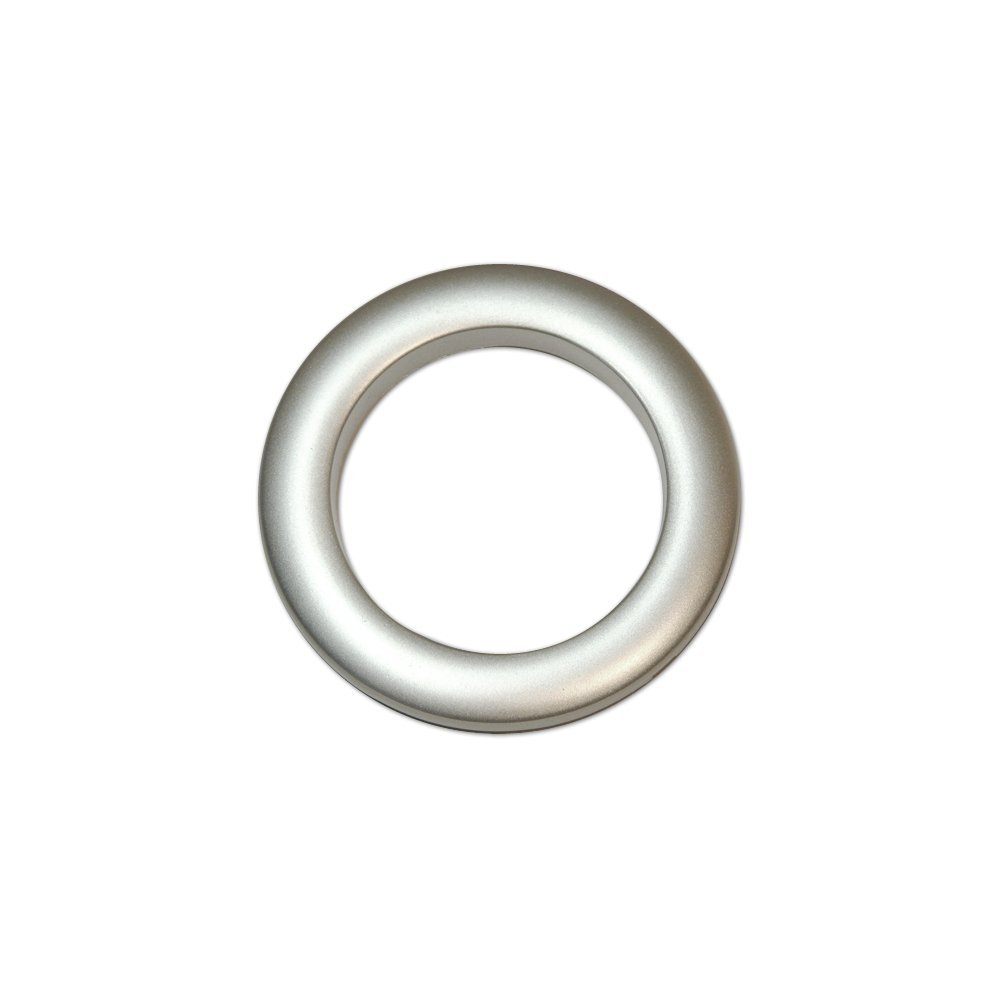 Oeillets à clipser pour rideaux coloris Argent Mat - diamètre 55 mm - lot de 8 Faire des Rideaux