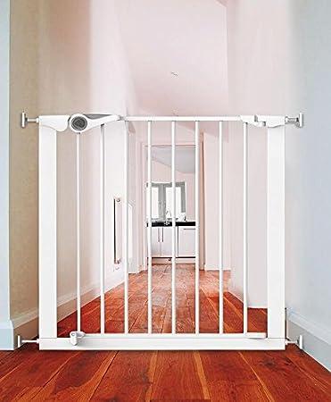 noma easy fit I Unser Bestseller ohne Bohren: Das easy fit Schutzgitter aus Metall, Farbe:Weiss noma Schutzgitter