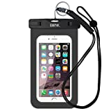 EOTW IPX8 Universal Waterproof Case for Smartphone Device to 6' Fit iPhone 6/6S Plus, iPhone 6 6S 5 5S SE 5C Samsung Galaxy s8/s8plus/s7 Google Pixel HTC10,for Water Parks/Beach/Cruise/Pools