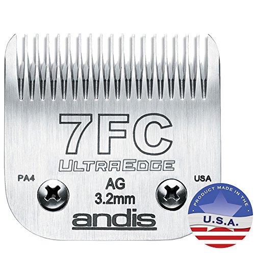 Ultraedge Blades (Andis UltraEdge Dog Clipper Blade, Size-7FC, 1/8-Inch Cut Length)