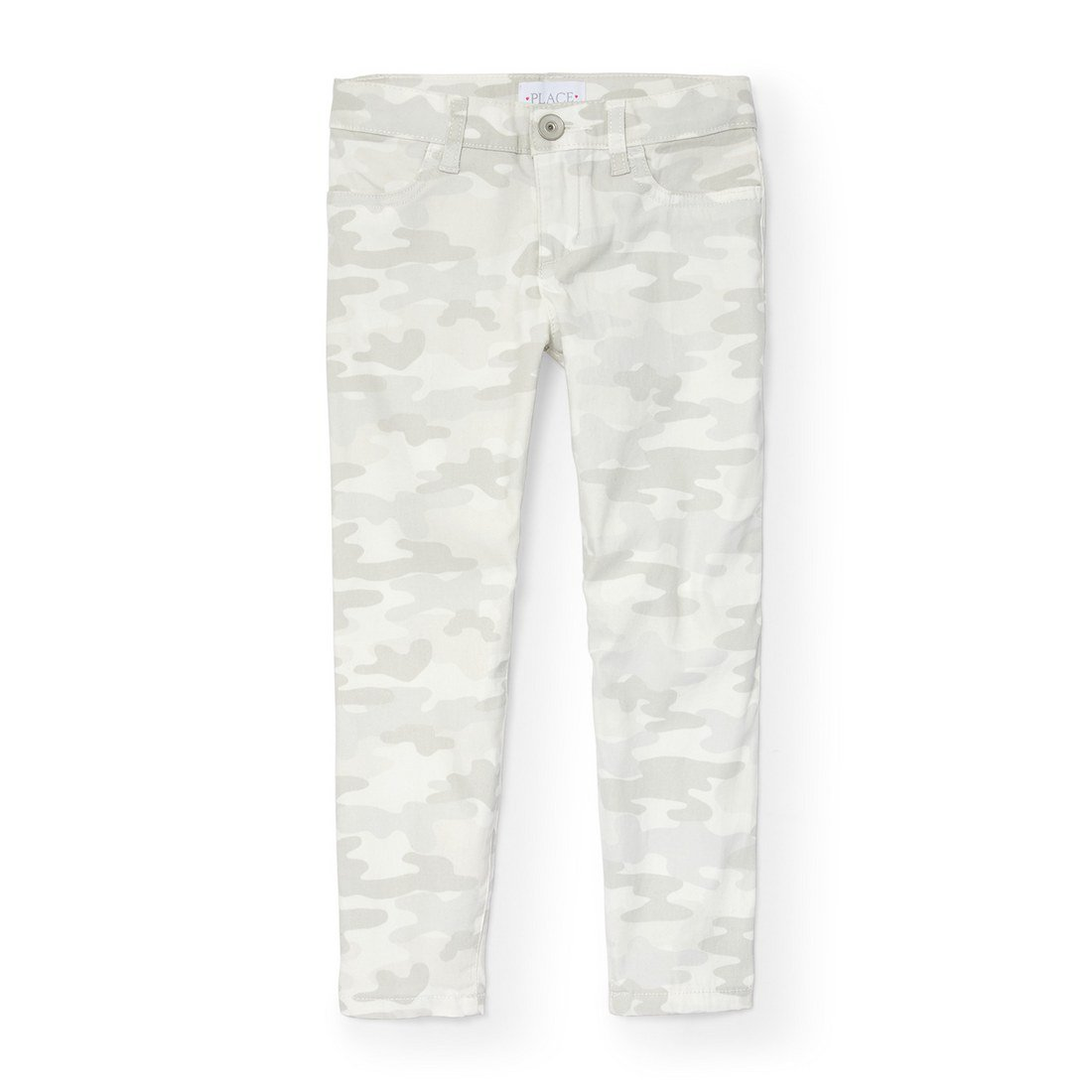 The Children's Place Big Girls' Printed Skinny Jegging, Simplywht 6372, 5 by The Children's Place (Image #1)