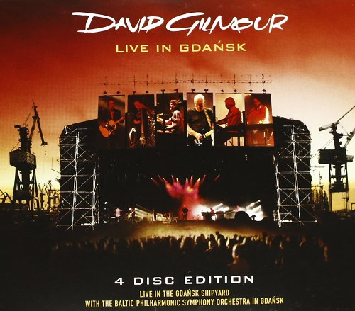 DAVID GILMOUR LIVE IN GDANSK (2DVD + 2 CDs) (Music Palladia)