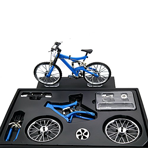 [해외]BangBang Bicycle Model Simulation DIY Alloy MountainRoad Bicycle Set Decoration Gift Model (1 Set: Style 001) / BangBang Bicycle Model Simulation DIY Alloy MountainRoad Bicycle Set Decoration Gift Model (1 Set: Style 001)