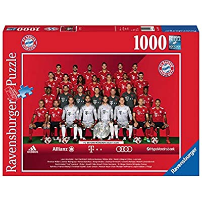 Ravensburger Adulti Puzzle 19879 Fc Bayern Stagione 201819 Puzzle