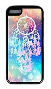 LJF phone case iphone 6 4.7 inch case, Cute Dream Dreamcatcher iphone 6 4.7 inch Cover, iphone 6 4.7 inch Cases, Soft Black iphone 6 4.7 inch Covers
