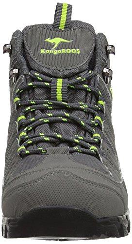 Boots Trekking Grey Kangaroos 3007w Dark Women's K Lime Spw68q