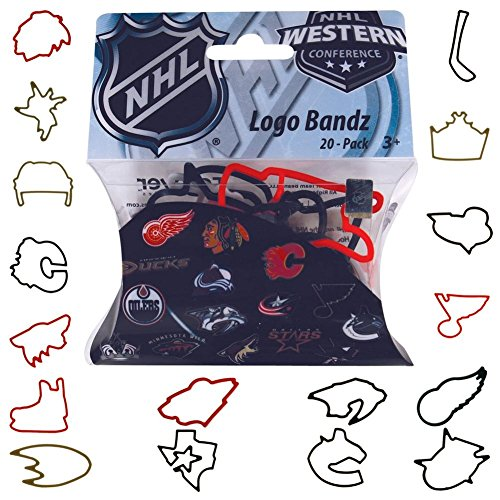 UPC 884966465673, NHL- Western Conference Teams Logo Bandz