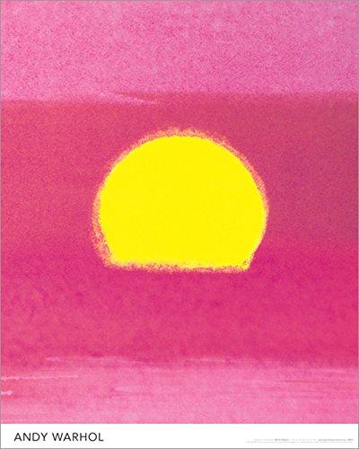 (Andy Warhol Sunset Fine Pop Art Poster Art Print 16 by 20)