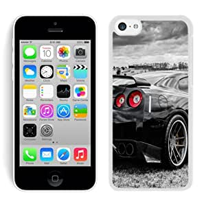 Popular iPhone 5c Nissan GT R Skyline White Screen Cover Case Unique and Custom Design
