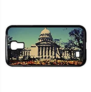 Capitol Building Watercolor style Cover Samsung Galaxy S4 I9500 Case (Washington Watercolor style Cover Samsung Galaxy S4 I9500 Case) by icecream design