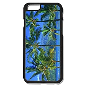 IPhone 6 Cases Tropical Palm Trees Along Beach Sea Design Hard Back Cover Proctector Desgined By RRG2G