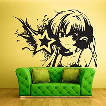 Amazon.com: Wall Vinyl Sticker Decals Decor Art Bedroom Design Mural ...