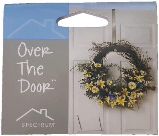 Bronze Spectrum Over the Door 2.5cm Wreath Holder Bronze