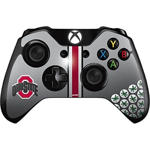 (Skinit Ohio State University Buckeyes Xbox One Controller Skin - Officially Licensed Ohio State University Gaming Decal - Ultra Thin, Lightweight Vinyl Decal Protection)