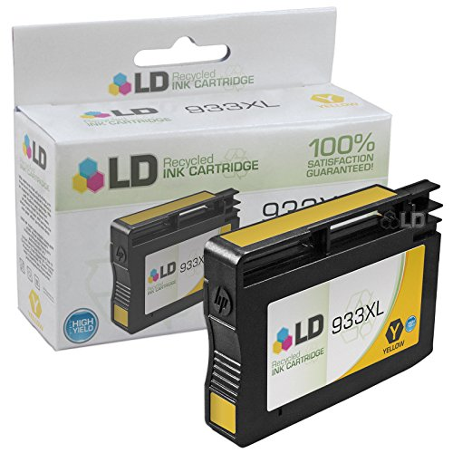 LD © Remanufactured Replacement for 933XL Set of 6 High Yield Ink Cartridges Includes: 2 Cyan CN054AN, 2 Magenta CN055AN, and 2 Yellow CN056AN for us in HP OfficeJet 6100, 6600, 6700, 7110 ePrinter, & 7610 Printers Photo #2