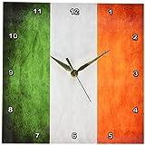 Cheap 3dRose LLC dpp_28254_1 Ireland Flag Wall Clock, 10 by 10-Inch