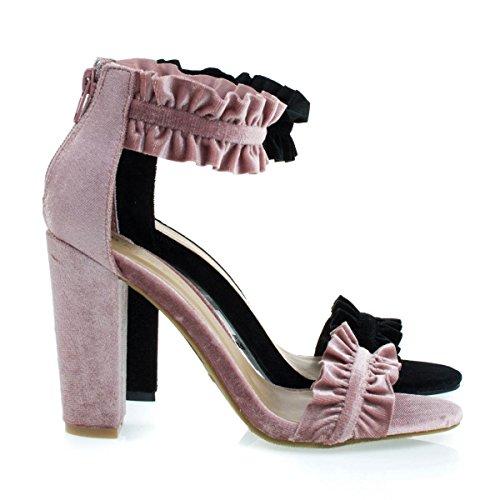 Chunky Heeled Womens Shoes