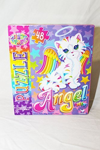 Lisa Frank Angel Kitty Rainbow Puzzle - Cat Angel Kitty