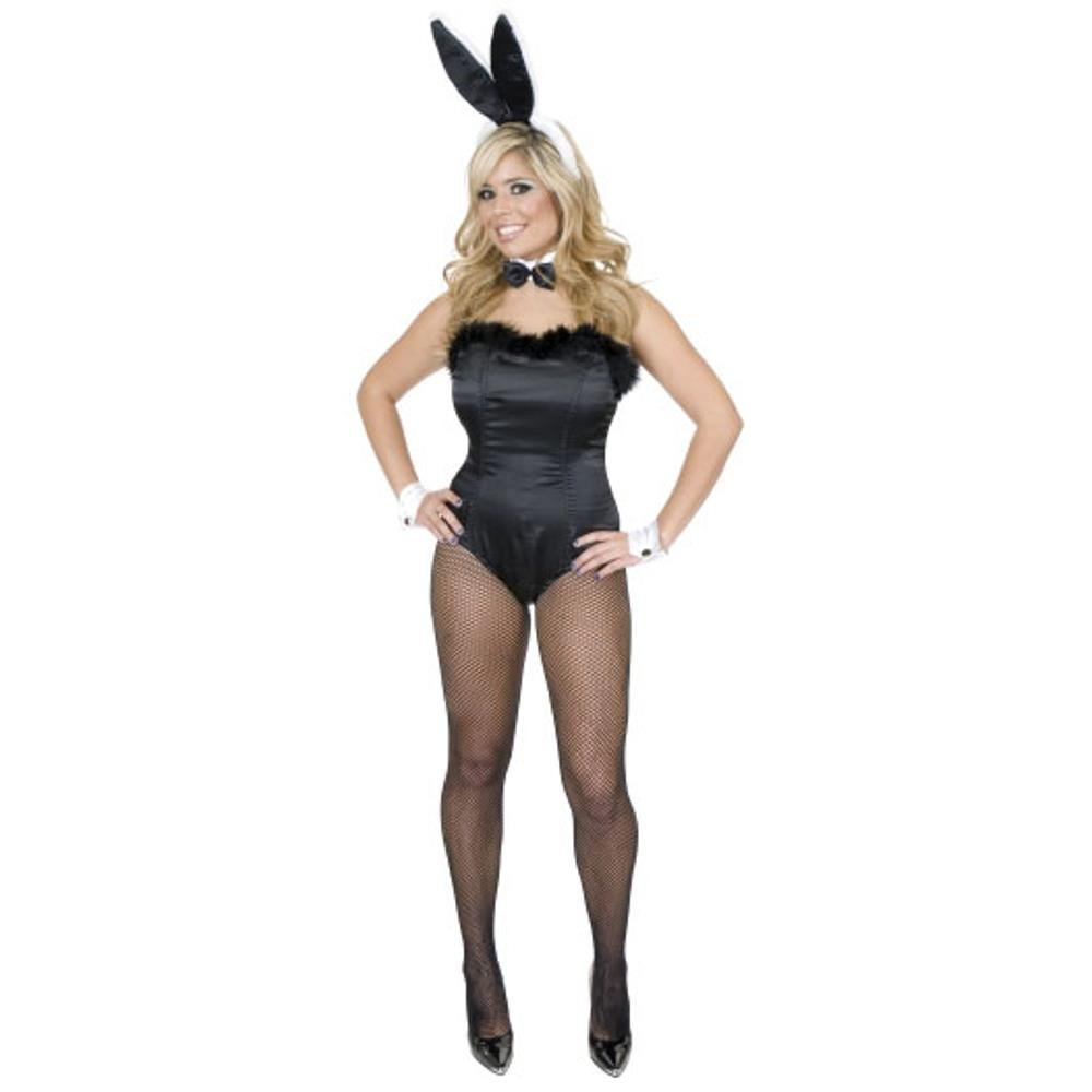 Women X-Sm (3-5-Runs Small) Sexy Bunny Costume with Ears Charaded 01043