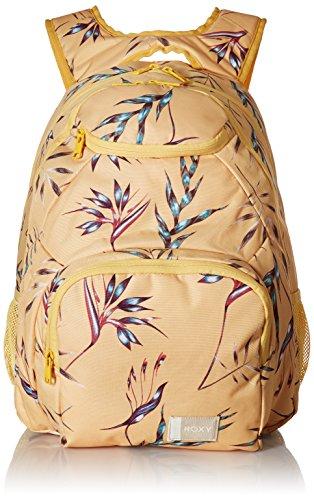 Roxy Junior's Shadow Swell Backpack, Buff Yellow Swim Stormy Flower, 1SZ